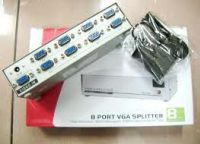 8 PORT VGA SPLITTER 130/150MHz