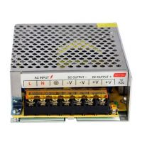 POWER SUPPLY DC 12V 10A METAL CASE