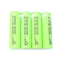 RECHARGEABLE BATTERY 4X AA Ni-MH 2600mAh 1.2V