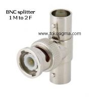 BNC SPLITTER 1M - 2F ADAPTER