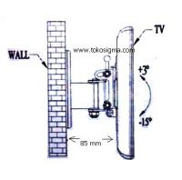 WALL BRACKET EML-220 for TV LED 17-37 inch