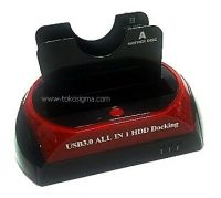 USB3.0 HDD DUAL SATA Docking Station with Backup