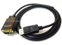 KABEL DISPLAYPORT M to VGA M 1.5mtr