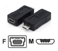 MICRO USB M TO MINI USB F ADAPTER