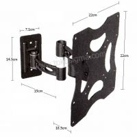 BRACKET TV LED 14-33inch KZ-25 FULL MOTION