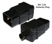 CONNECTOR C20 MALE 3 PIN