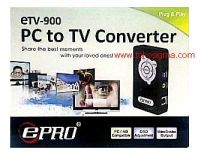 PC TO TV CONVERTER ETV-900
