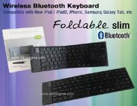 BLUETOOTH FOLDING PORTABLE KEYBOARD BT-7268 <br /> <br />
