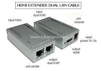 HDMI EXTENDER DUAL LAN CABLE up to 60M