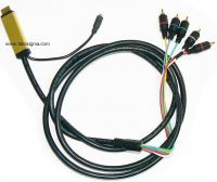 HDMI TO 5 RCA COMPONENT - Ypbpr AND AUDIO CONVERTER CABLE 2 M