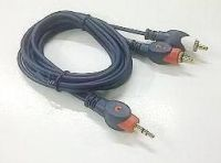 kabel 3.5mm M to 2 rca M newtide @ Rp 16.000<br /><br />