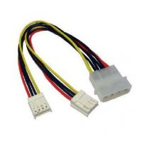 KABEL MOLEX 4 PIN TO 2X POWER FDD INTERNAL