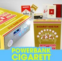 POWER BANK 5600mAh - kotak rokok