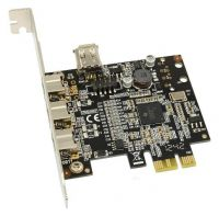 PCI-E FIREWIRE 3x 9pin + 1x 6pin chip TI (model ini sold out)
