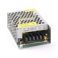 POWER SUPPLY DC 12V 3A METAL CASE