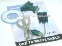 KABEL USB TO RS232 <br />+ ADAPTER DB25 <br />Rp 45.000,-<br />