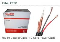 KABEL CCTV RG59 + POWER COOPER 305M