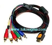 KABEL HDMI TO 5 RCA COMPONENT 15mtr