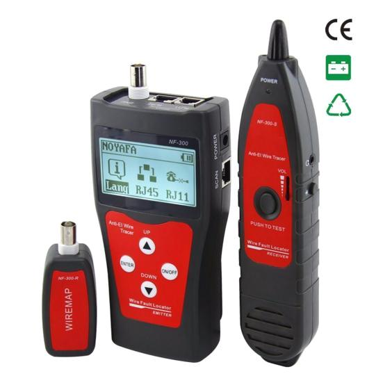 Coax Fault Locator : Wire fault locator network cable tester tracer nf