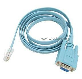 Kabel Serial Db9 F Rs232 To Rj45 Cisco Toko Sigma