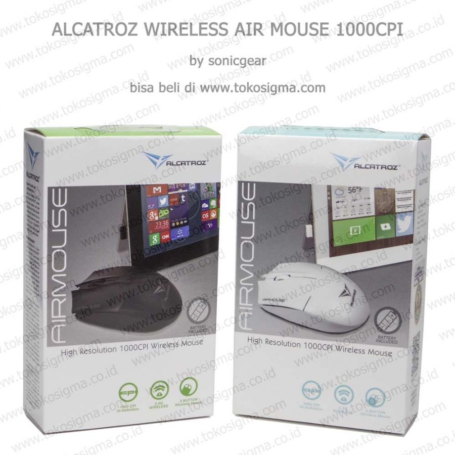 Alcatroz Airmouse Mouse Wireless Putih Page 2 Daftar Update Air Hitam Duo2 Bluetooth Electronics Computer Parts Source Usb