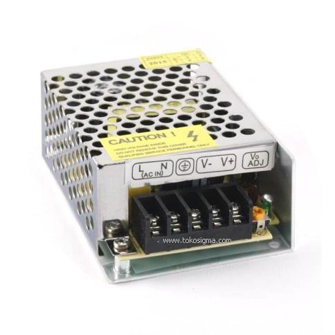 POWER SUPPLY DC 12V 3A METAL CASE - Toko Sigma
