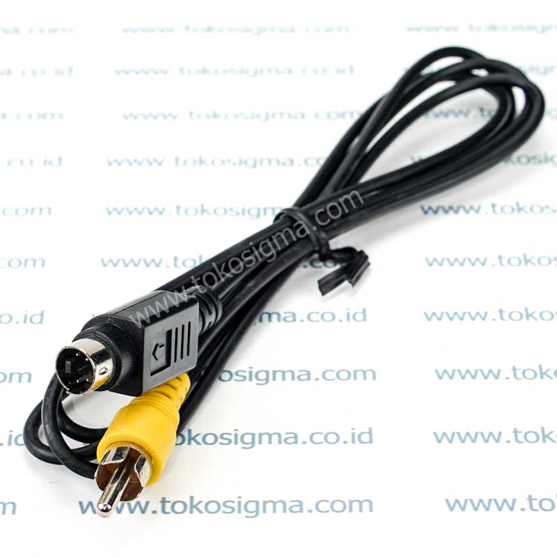 KABEL S VIDEO PIN 4 Male TO 1 RCA Male VIDEO