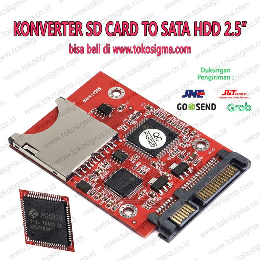 sd to sata converter card toko sigma. Black Bedroom Furniture Sets. Home Design Ideas