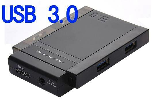 USB 3.0/2.0 HUB 4 PORT WITH ADAPTOR 3041P - Toko Sigma