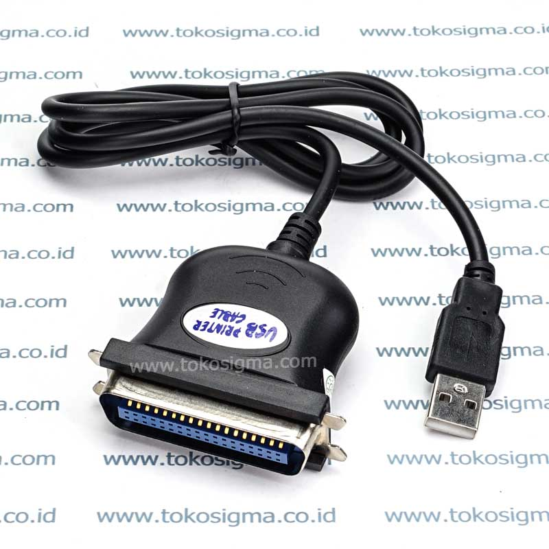 kabel usb to printer parallel y 120 toko sigma. Black Bedroom Furniture Sets. Home Design Ideas