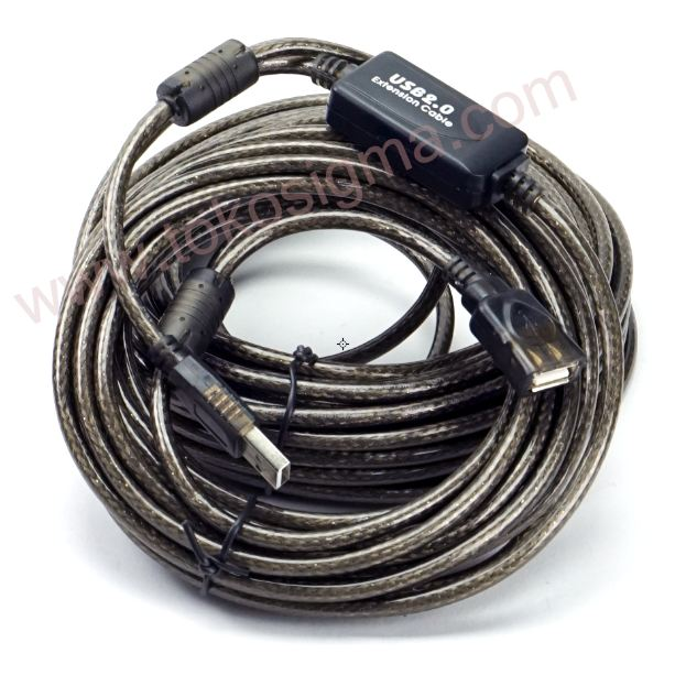 Favoriete USB 2.0 EXTENSION CABLE 15 meter with BOOSTER - Toko Sigma PO75